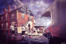 Fulham 'Rolling Back The Years' Craven Cottage A3 unframed print